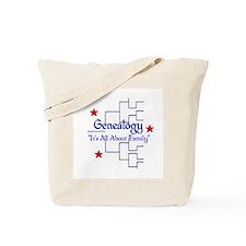 Family Tree Chart Tote Bag