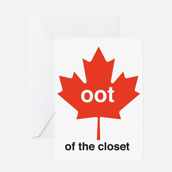 ootofthecloset Greeting Card