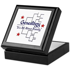 Family Tree Chart Keepsake Box
