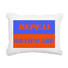 Repeal ObamaCare Yard Si Rectangular Canvas Pillow