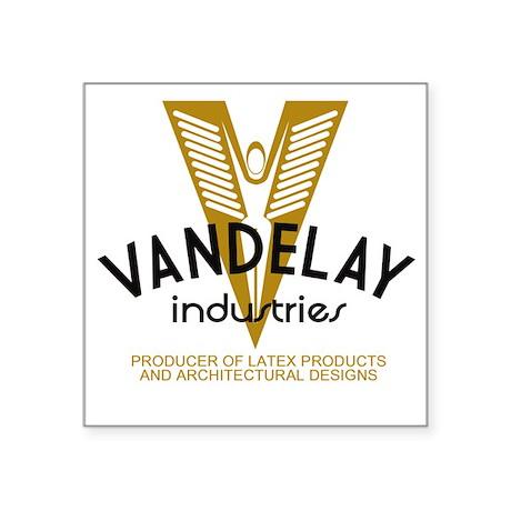 """VandelayId Square Sticker 3"""" x 3"""""""