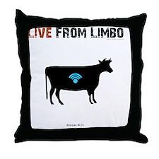 T_Shirt.E Throw Pillow