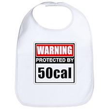Warning 50cal Bib
