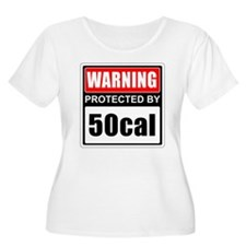 Warning 50cal Plus Size T-Shirt
