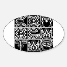 CG Logo Indigenous W Oval Decal