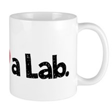 Love a Lab-choc-wide Mug