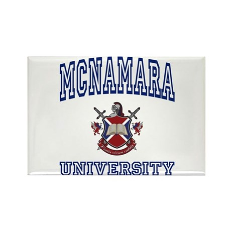 MCNAMARA University Rectangle Magnet (100 pack)