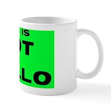 Rectangular Sticker Mug