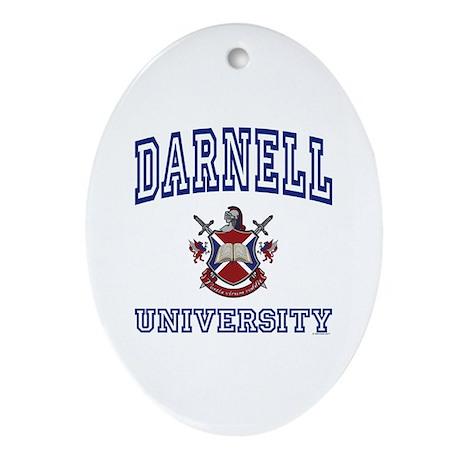 DARNELL University Oval Ornament