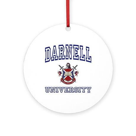 DARNELL University Ornament (Round)