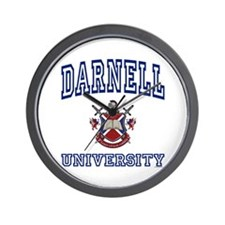 DARNELL University Wall Clock