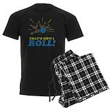 Bowling Men's Dark Pajamas