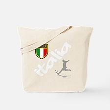 italian soccer(blk) Tote Bag