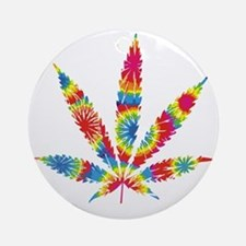 HippieWe Round Ornament