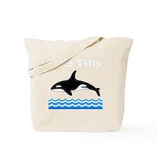Tilly -blk Tote Bag