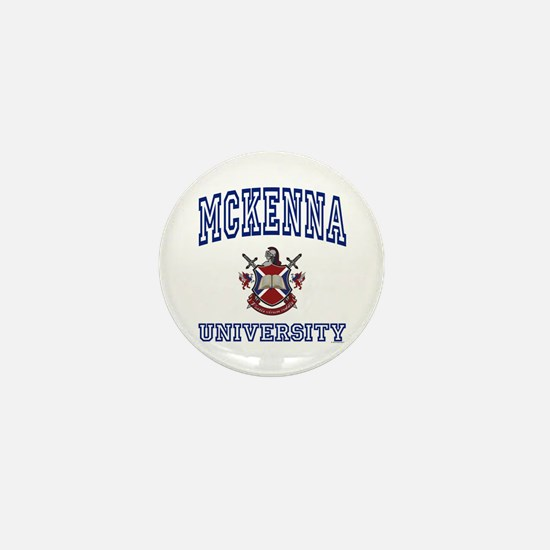 MCKENNA University Mini Button