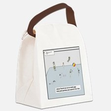 pool party tile Canvas Lunch Bag