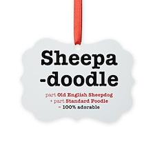 sheepadoodle Ornament