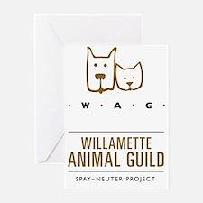 Full size color WAG_web_logotransmar Greeting Card