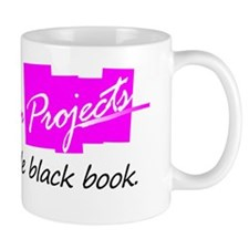 What happens in project stays in black  Mug
