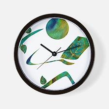 2-GreenReader Wall Clock