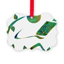 2-GreenReader Ornament