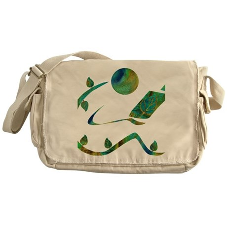 2-GreenReader Messenger Bag