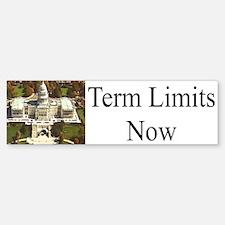 Term Limits Now Bumper Bumper Bumper Sticker