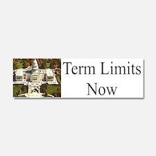 Term Limits Now Car Magnet 10 X 3