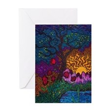 Tree by Christopher Blosser Greeting Card