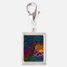Tree by Christopher Blosser Silver Portrait Charm