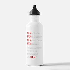 MenProblemsDark Water Bottle