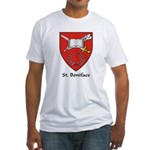 St Boniface Fitted T-Shirt