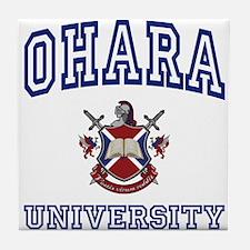OHARA University Tile Coaster