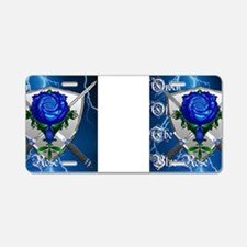 Order of the Blue Rose Aluminum License Plate