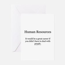 Human resources Greeting Cards (Pk of 10)
