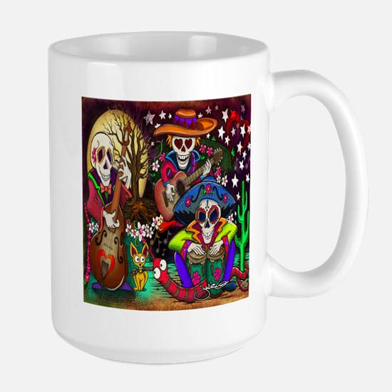 Day of the Dead Music a Stainless Steel Travel Mug
