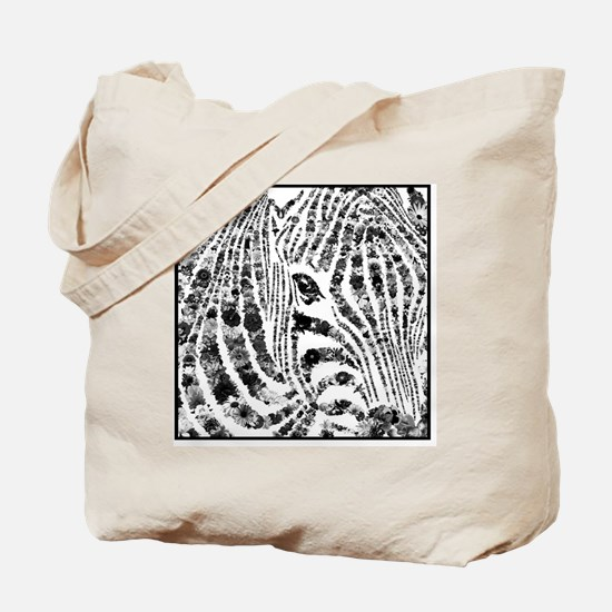 zebra of life Tote Bag