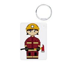 Fireman Pad16 Keychains