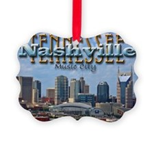 nashvillepostcardCROP Ornament