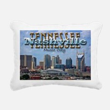 nashvillepostcardCROP Rectangular Canvas Pillow