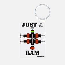 Just A Ram CC 1 A4 ad Keychains