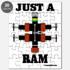 Just A Ram CC 1 A4 ad Puzzle