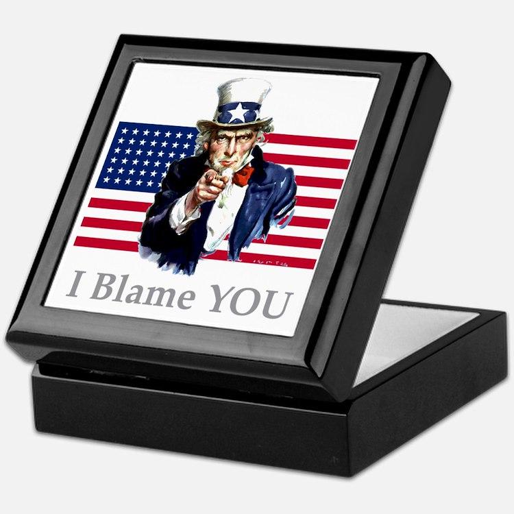 Uncle-Blame Keepsake Box