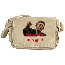 brown money Messenger Bag