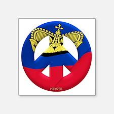 """Liechtenstein Square Sticker 3"""" x 3"""""""
