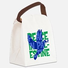 peace-in-palestine-t-shirt Canvas Lunch Bag