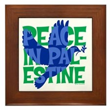 peace-in-palestine-t-shirt Framed Tile