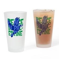 peace-in-palestine-t-shirt Drinking Glass