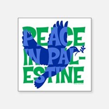 "peace-in-palestine-t-shirt Square Sticker 3"" x 3"""